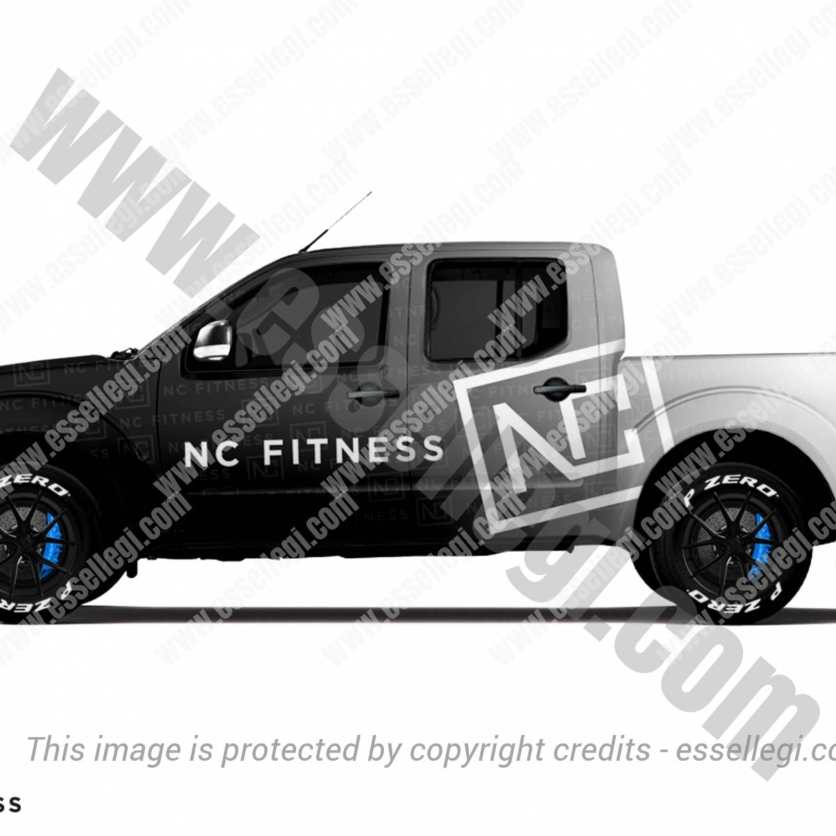 NC FITNESS | TRUCK WRAP DESIGN 🇦🇺