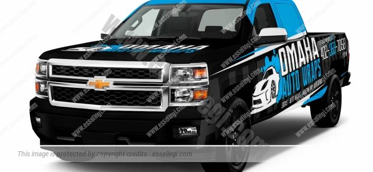 CHEVY SILVERADO | TRUCK WRAP DESIGN