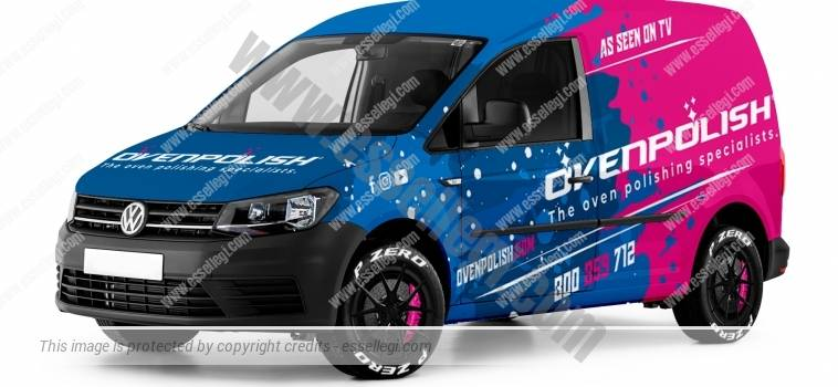 VW CADDY | VAN WRAP DESIGN