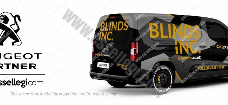 PEUGEOT PARTNER | VAN WRAP DESIGN