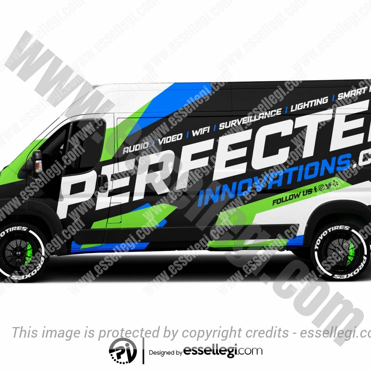 PERFECTED INNOVATIONS | VAN WRAP DESIGN 🇺🇸