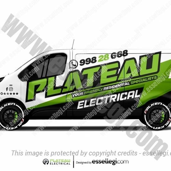 PLATEAU ELECTRICAL | VAN WRAP DESIGN 🇦🇺