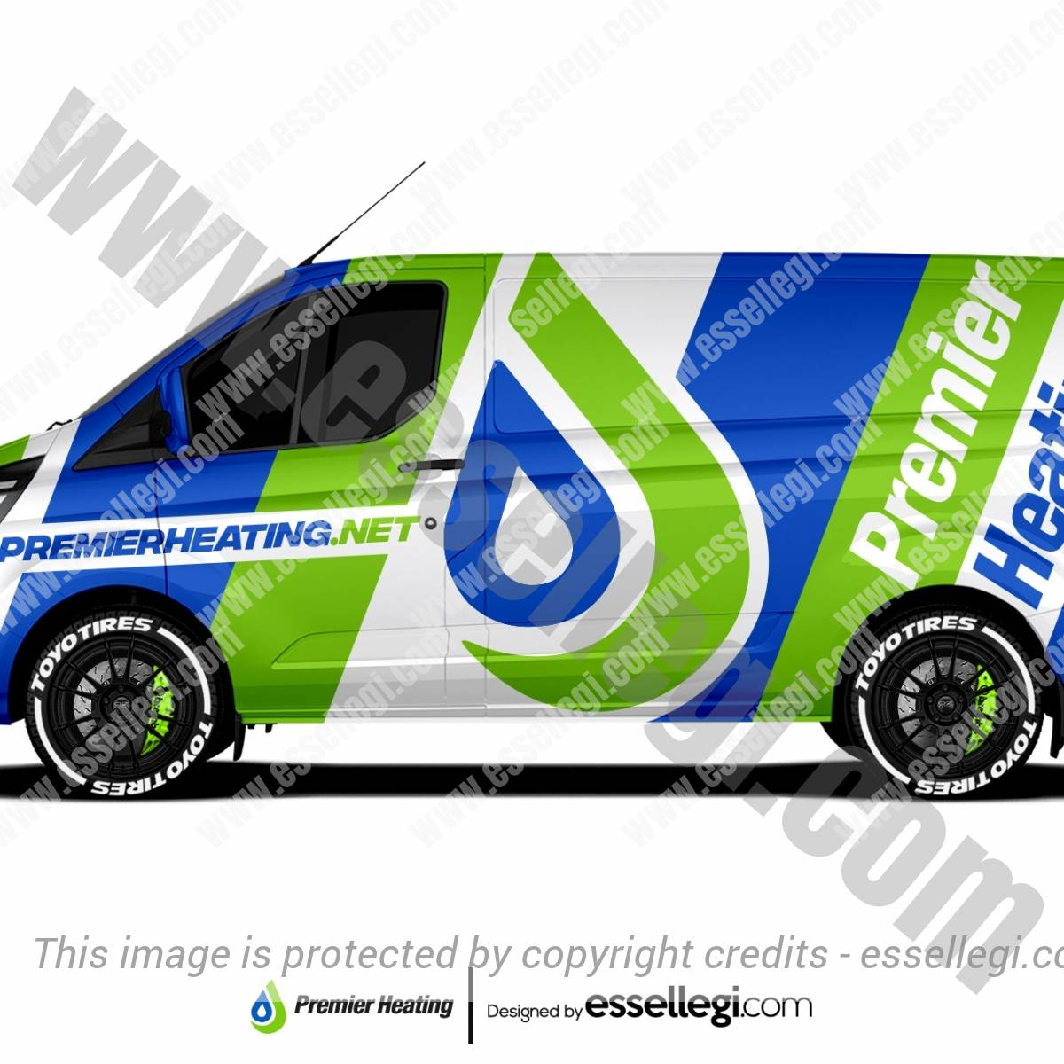 PREMIER HEATING | VAN WRAP DESIGN 🇬🇧