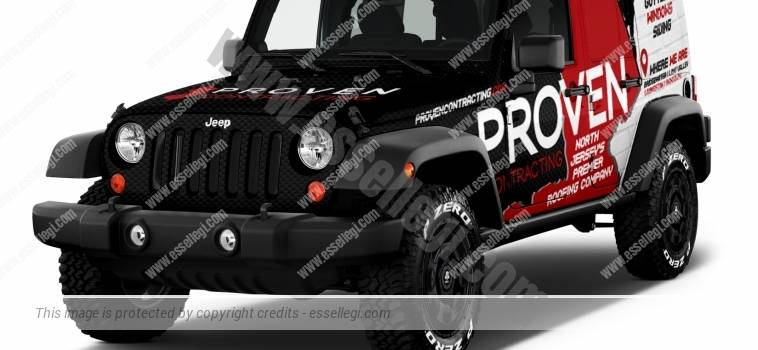 JEEP WRANGLER | CAR WRAP DESIGN