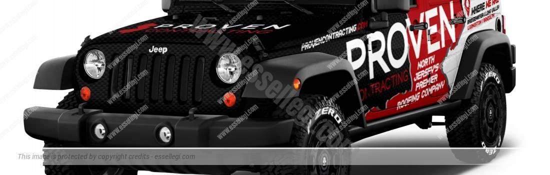 JEEP WRANGLER   CAR WRAP DESIGN