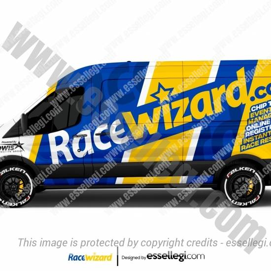 RACE WIZARD | VAN WRAP DESIGN 🇺🇸