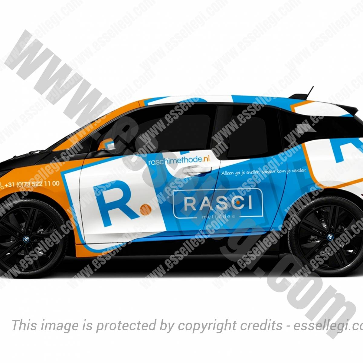 RASCI METHODE | CAR WRAP DESIGN 🇳🇱
