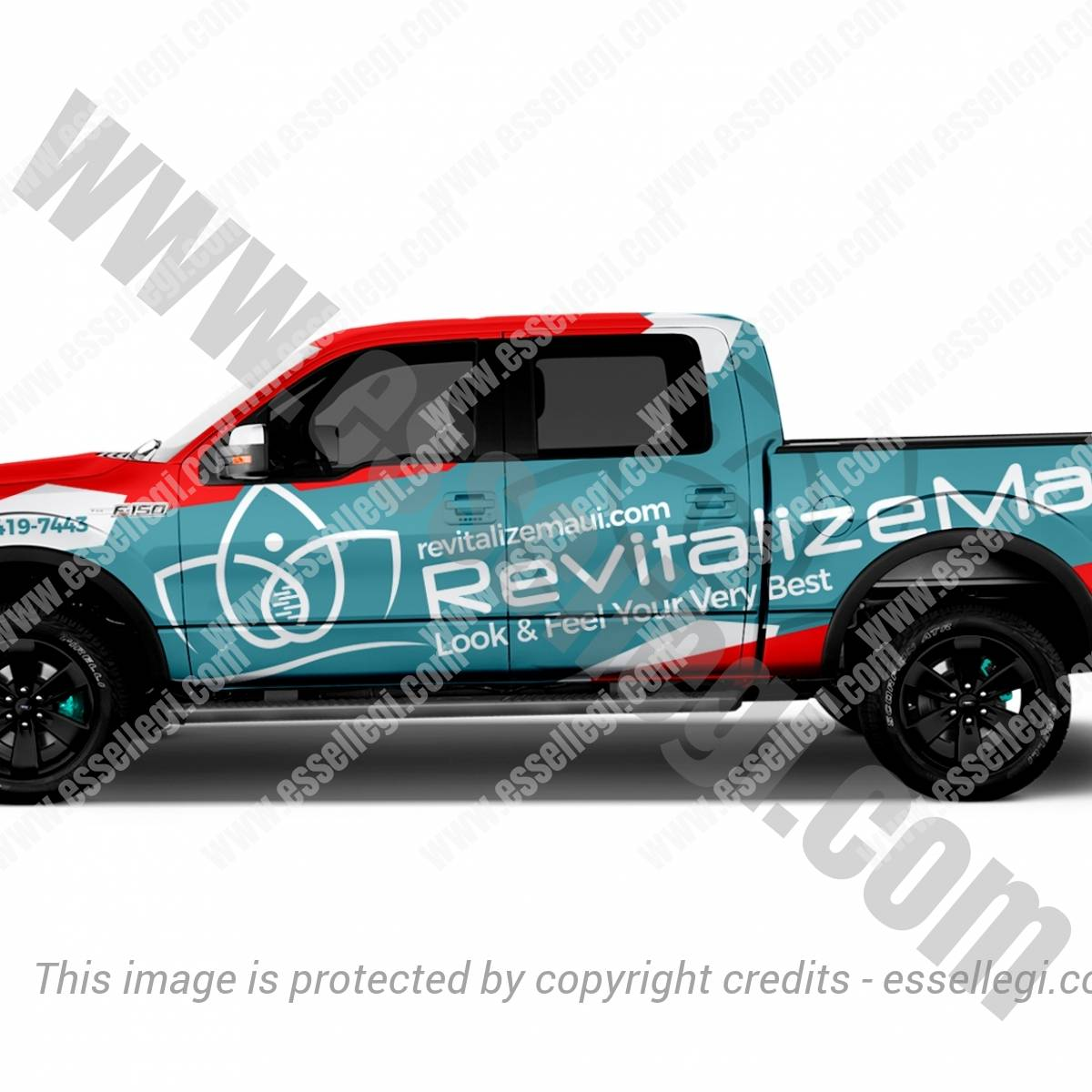 REVITALIZE MAUI | TRUCK WRAP DESIGN 🇺🇸