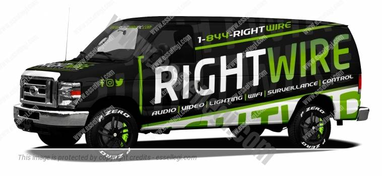FORD E-250 | VAN WRAP DESIGN