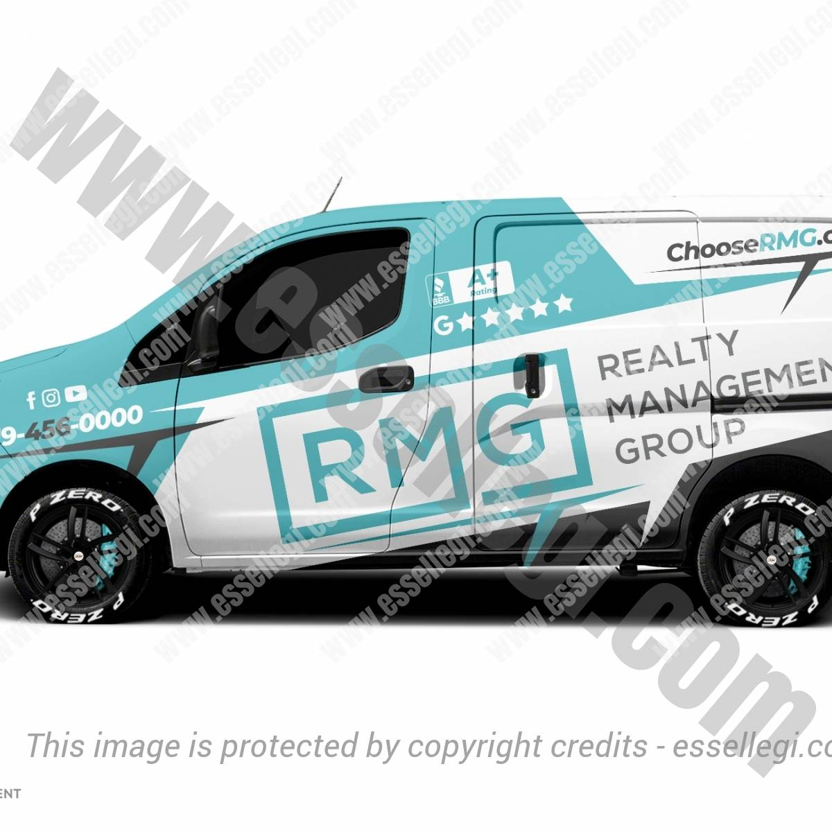 RMG | VAN WRAP DESIGN 🇺🇸