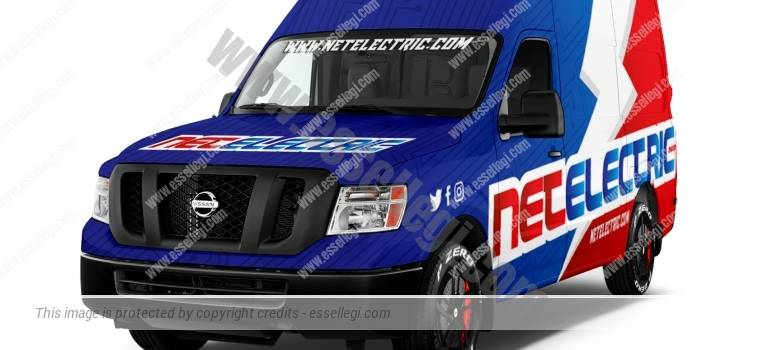 NISSAN NV 2500 | VAN WRAP DESIGN