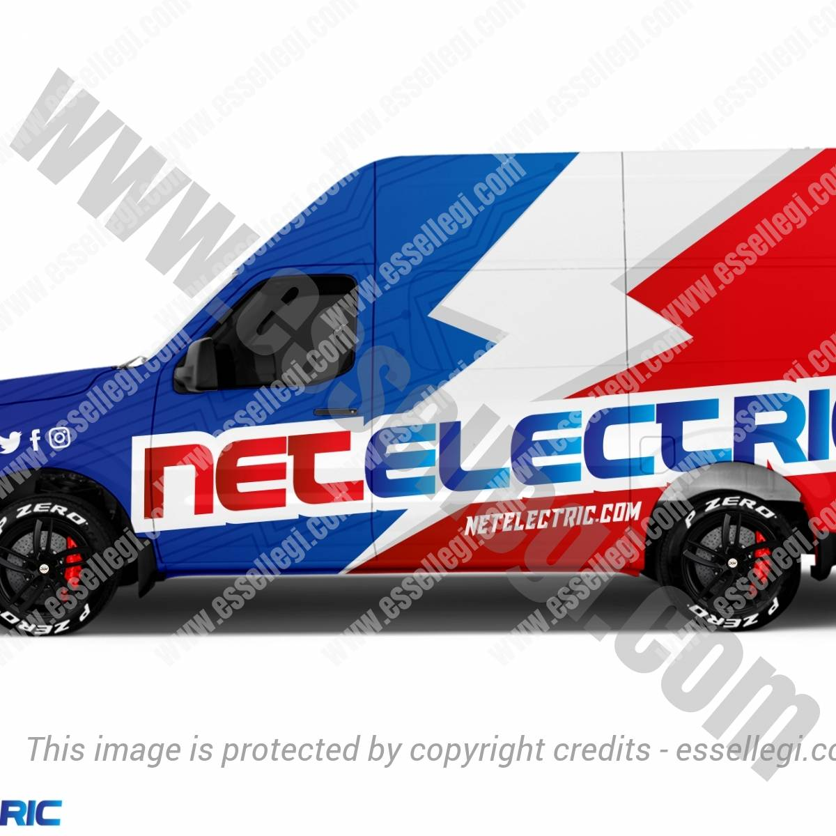 NETELECTRIC | VAN WRAP DESIGN 🇺🇸