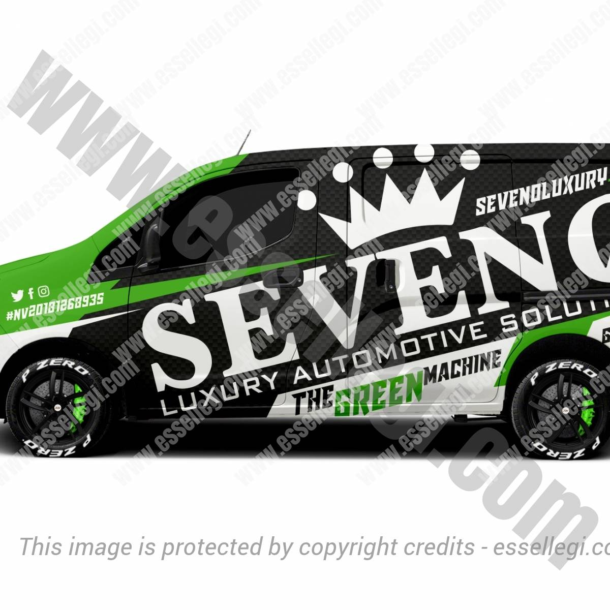 SEVENO LUXURY | VAN WRAP DESIGN 🇺🇸