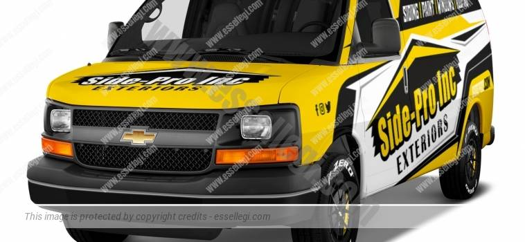 CHEVY EXPRESS | VAN WRAP DESIGN
