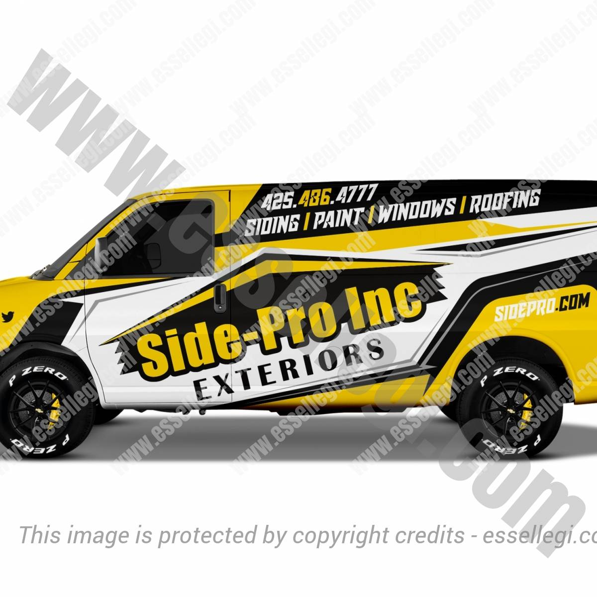 SIDE PRO | VAN WRAP DESIGN 🇺🇸