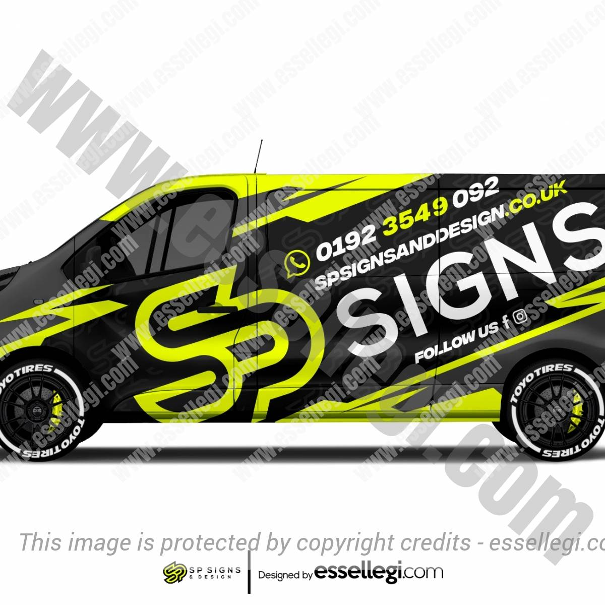 SP SIGNS AND DESIGN | VAN WRAP DESIGN 🇬🇧