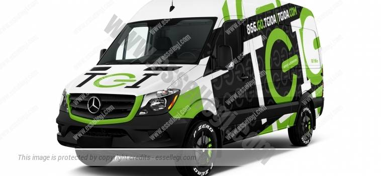 MERCEDES SPRINTER STANDARD HIGH ROOF | VAN WRAP DESIGN