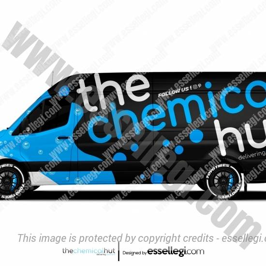 THE CHEMICAL HUT | VAN WRAP DESIGN 🇬🇧