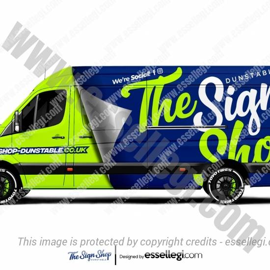 THE SIGN SHOP | VAN WRAP DESIGN 🇬🇧