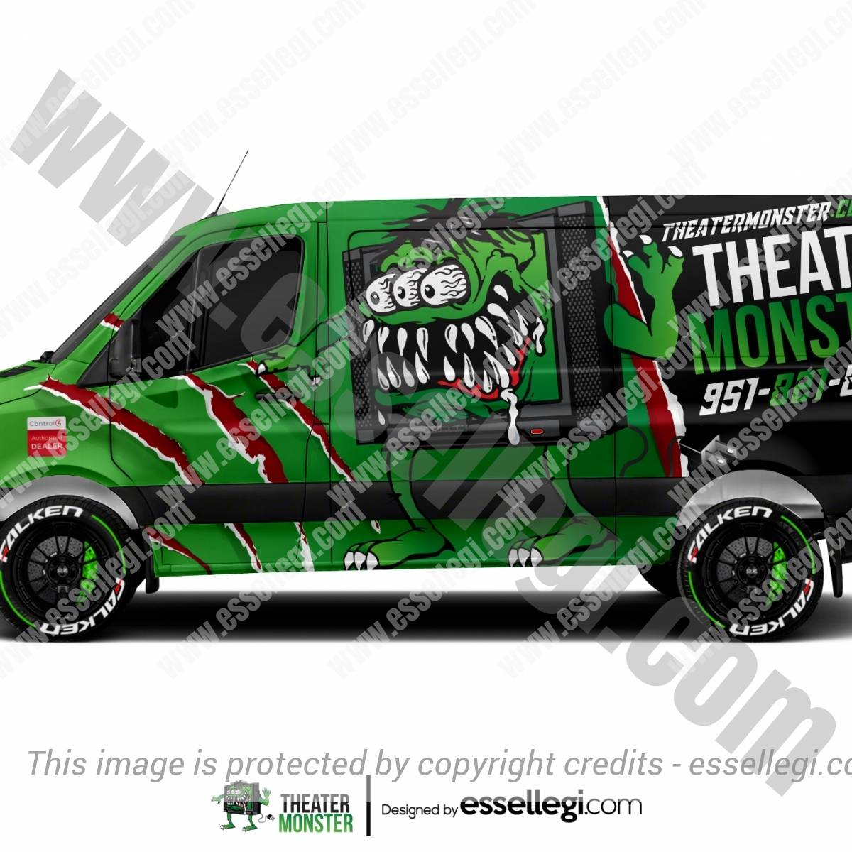 THEATER MONSTER | VAN WRAP DESIGN 🇺🇸