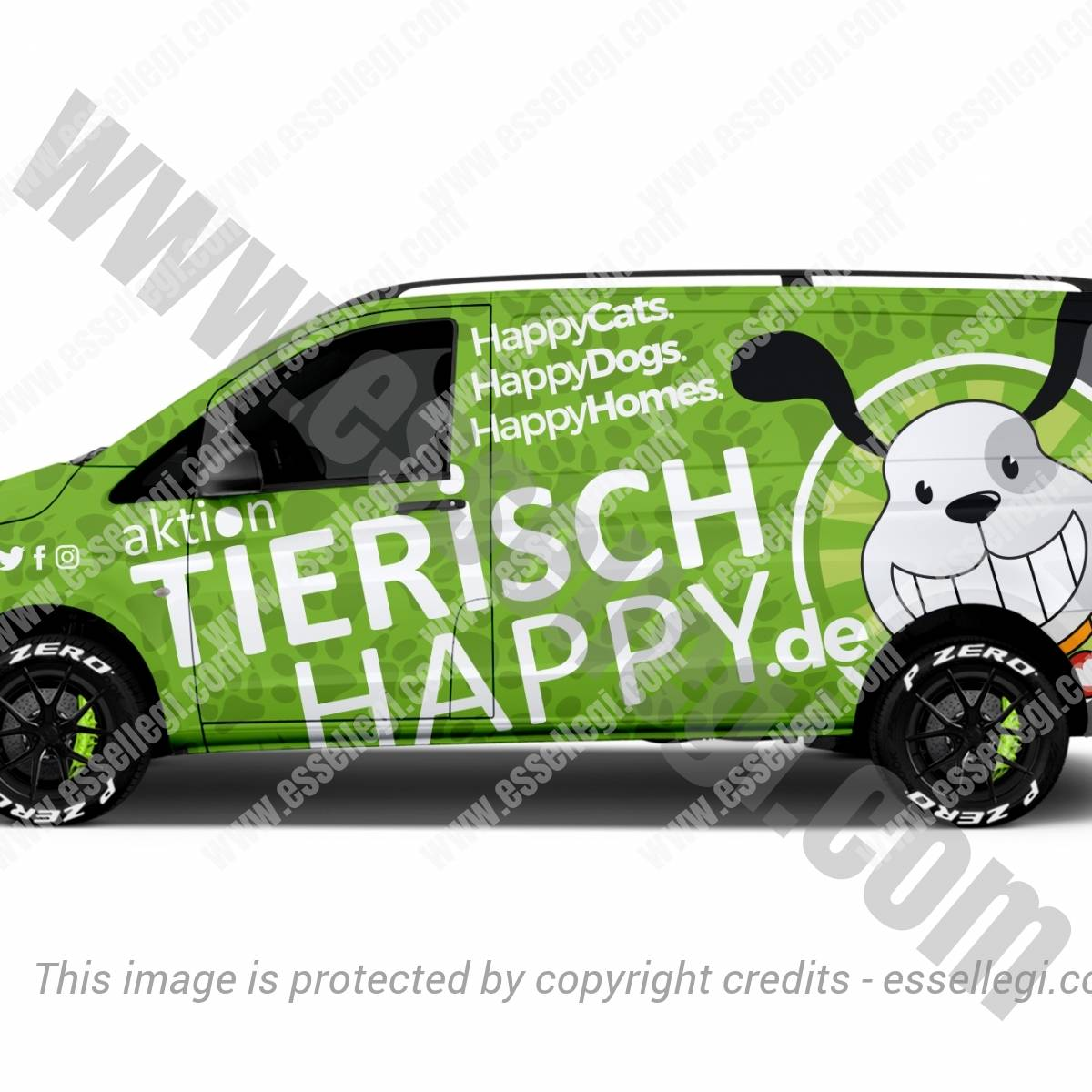 ACTION TIERISCH HAPPY | VAN WRAP DESIGN 🇩🇪