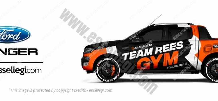 FORD RANGER | TRUCK WRAP DESIGN