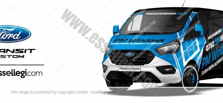 FORD TRANSIT CUSTOM | VAN WRAP DESIGN