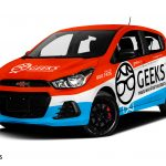 Chevrolet Spark Wrap. Chevrloet Spark | Car Wrap Design by Essellegi. Car Signs, Car Signage, Car Signwriting, Car Wrap Designer, Car Wrap Design by Essellegi.