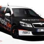 Skoda Octavia   Car Wrap Design by Essellegi. Car Signs, Car Signage, Car Signwriting, Car Wrap Designer, Car Wrap Design, Car Graphic by Essellegi.
