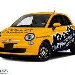 Fiat 500 Wrap. Fiat 500   Car Wrap Design by Essellegi. Car Signs, Car Signage, Car Signwriting, Car Wrap Designer, Car Wrap Design, Car Graphic by Essellegi.