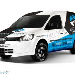 Volkswagen Caddy Wrap Design. Volkswagen Caddy | Van Wrap Design by Essellegi. Van Signs, Van Signage, Van Wrapping, Van Signwriting, Van Wrap Designer, Signs for Van, Van Logo, Van Graphic by Essellegi.