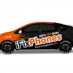 Toyota Prius Wrap Design. Toyota Prius | Car Wrap Design by Essellegi. Car Signs, Car Signage, Car Signwriting, Car Wrap Designer, Car Graphic, Custom Vehicle Signage, Car Wrap Design by Essellegi.