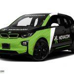 BMW i3 wrap. BMW i3 | Car Wrap Design by Essellegi. Car Signs, Car Signage, Car Signwriting, Car Wrap Designer, Car Graphic, Custom Vehicle Signage, Car Wrap Design by Essellegi.