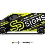 Renault Trafic Wrap Design. Renault Trafic Wrap | Van Wrap Design by Essellegi. Van Signs, Van Signage, Van Wrapping, Van Signwriting, Van Wrap Designer, Signs for Van, Van Logo, Van Graphic by Essellegi.