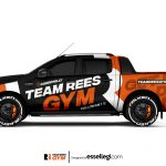 Ford Ranger Wrap Design. Ford Ranger Wrap | Van Wrap Design by Essellegi. Van Signs, Van Signage, Van Wrapping, Van Signwriting, Van Wrap Designer, Signs for Van, Van Logo, Van Graphic by Essellegi.