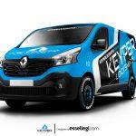 Renault Trafic Wrap Design. Renault Trafic   Van Wrap Design by Essellegi. Van Signs, Van Signage, Van Wrapping, Van Signwriting, Van Wrap Designer, Signs for Van, Van Logo, Van Graphic by Essellegi.
