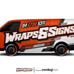 Toyota Hiace Wrap Design. Toyota Hiace | Van Wrap Design by Essellegi. Van Signs, Van Signage, Van Wrapping, Van Signwriting, Van Wrap Designer, Signs for Van, Van Logo, Van Graphic by Essellegi.